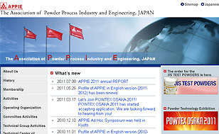 The association of Powder Process Industry and Engineering, JAPAN